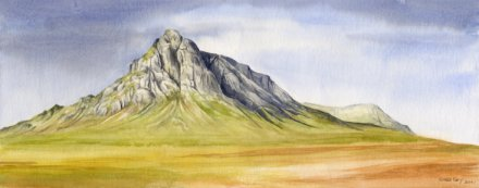 Image of Buachaille Etive Mor painting