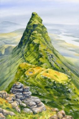 Image of Suilven painting